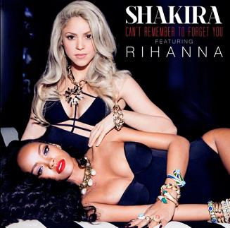 Shakira ft Rihanna - can't remember to forget you1