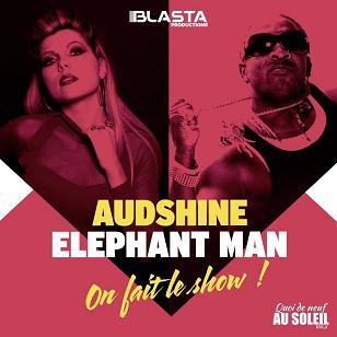 Audshine & Elephant Man - on fait le show