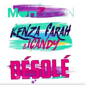 Dj Moh Green ft Icandy ft Kenza Farah - desolé (sorry)